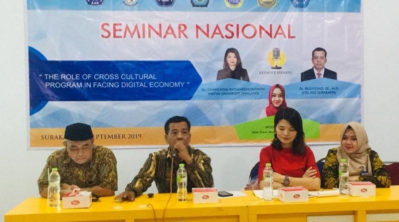 Collaborative Seminars with Hatyai University Thailand
